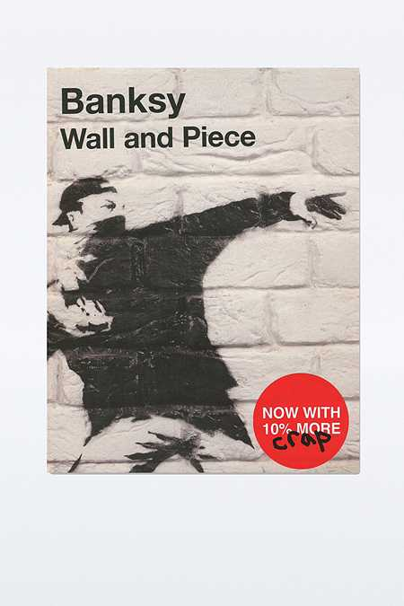 """Banksy: Wall & Piece"" Buch"