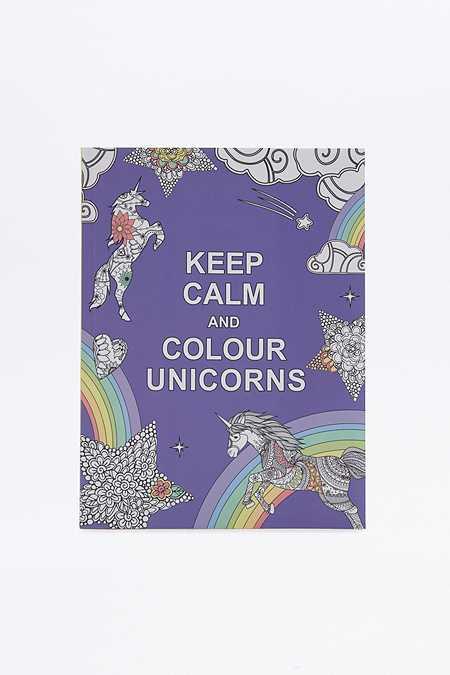 Livre Keep Calm and Colour Unicorns