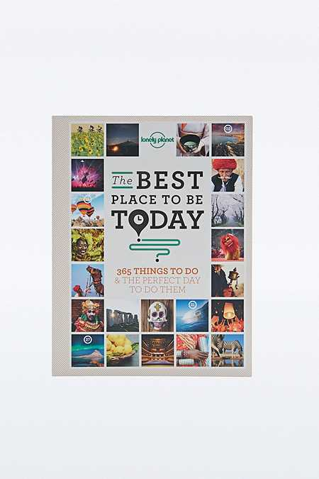 """Lonely Planet – Buch """"Best Place To Be Today"""""""