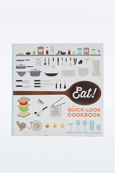 """Buch """"Eat! The Quick-Look Cookbook"""""""