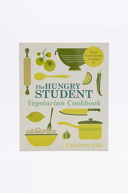 Livre de cuisine The Hungry Student Vegetarian