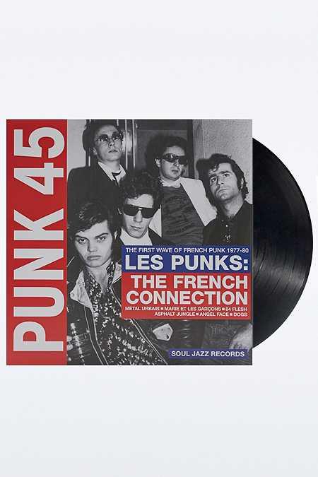 Disque vinyle Punk 45 : Les Punks : French Connection