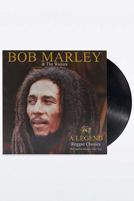 Disque vinyle classique reggae Bob Marley & the Wailers : A Legend