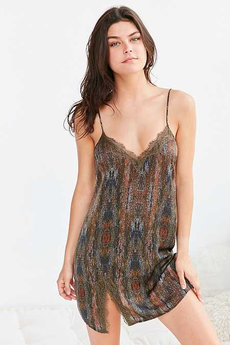 Out From Under Stardust Slip Dress