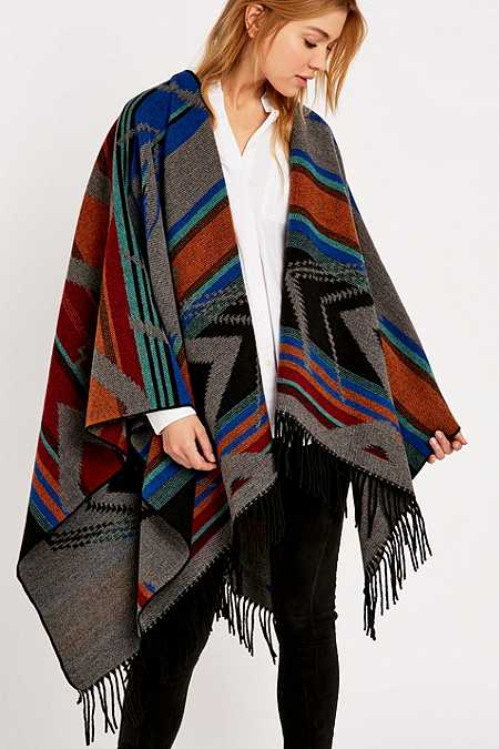 Kiboots Reversible Blanket Cape