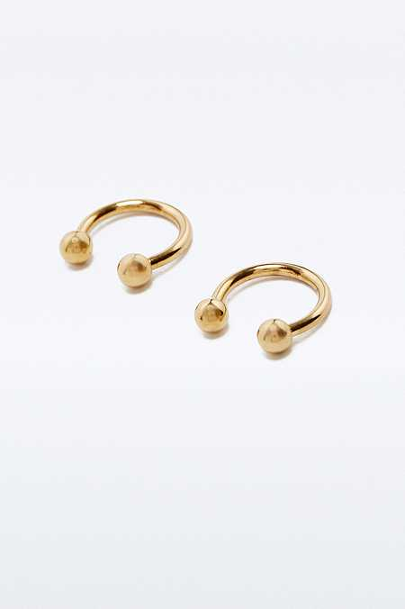 Openball Hoop Earrings
