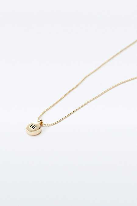 Hi Disc Necklace
