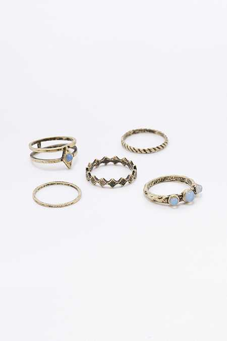 Betina Burnished Rings Multipack
