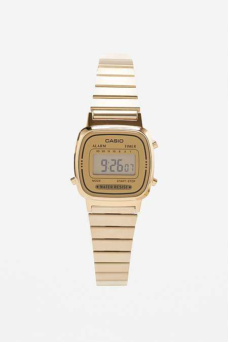 Casio Gold Face Watch