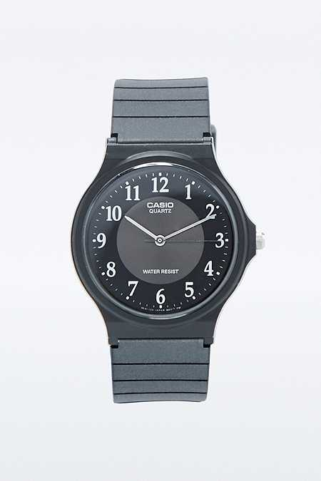 Casio Black Resin Watch