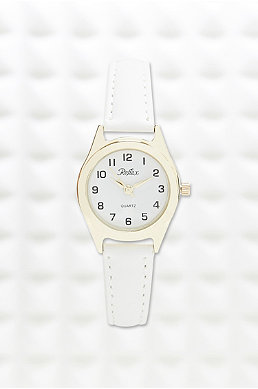 Reflex Classic Small Face Watch In White
