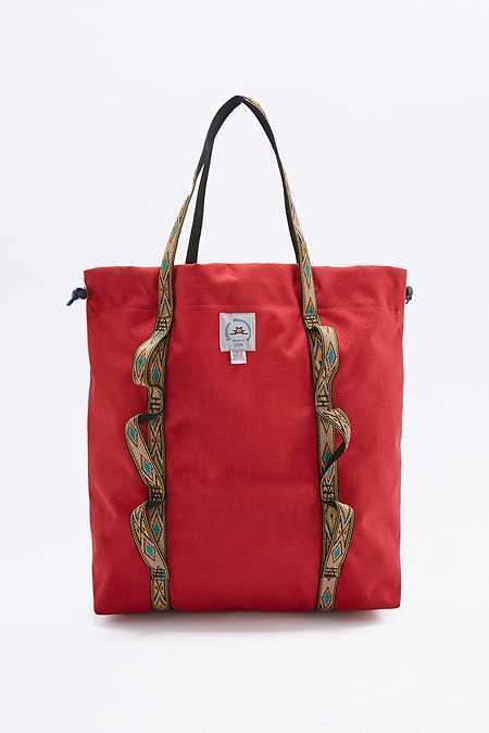 Epperson Mountaineering - Fourre-tout Climb rouge avec motif géométrique