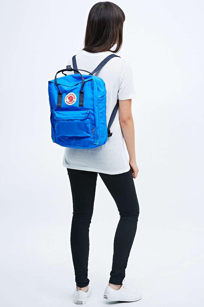 fjallraven kanken classic backpack size