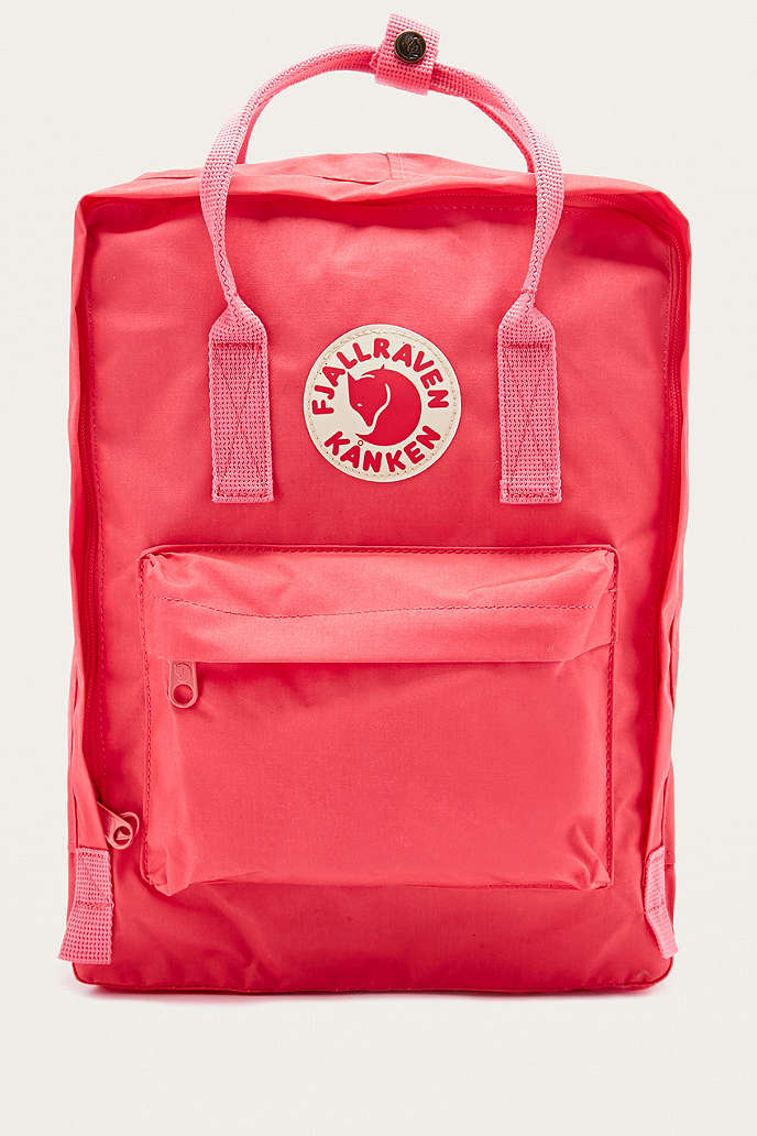 fjällräven backpack kanken peach pink