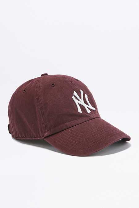 Casquette Yankees Bordeaux