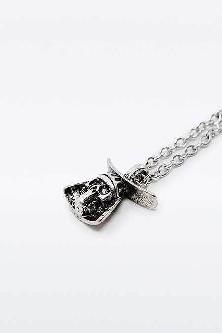 """Icon Brand – Halskette in Silber mit """"Hattori Hanzō""""-Anhänger"""