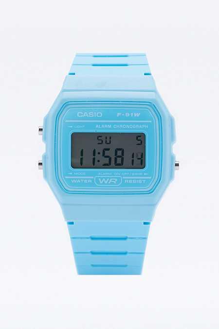 Casio Lässige, blaue Digitaluhr