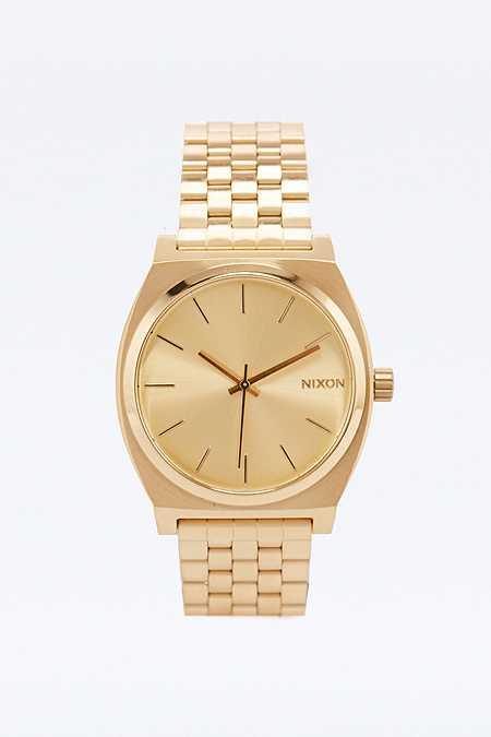 "Nixon – Armbanduhr ""Time Teller"" in Gold"
