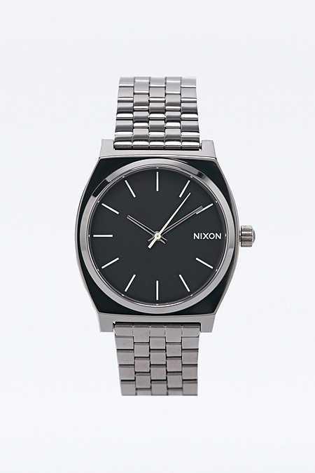 "Nixon – Armbanduhr ""Time Teller"" in Stahlgrau"