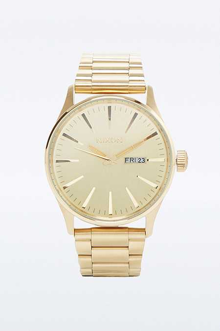 "Nixon – Uhr ""Sentry SS"" in Gold"
