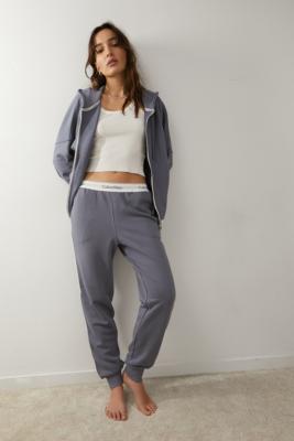 Sweat à capuche zippé - Calvin Klein - Modalova