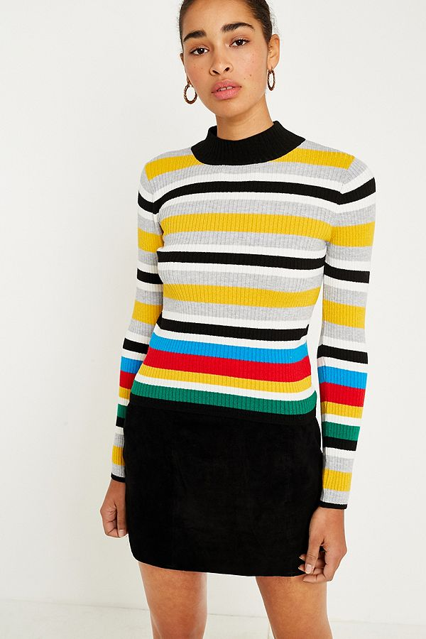 Rainbow Stripe jumper from Urban Outfitters