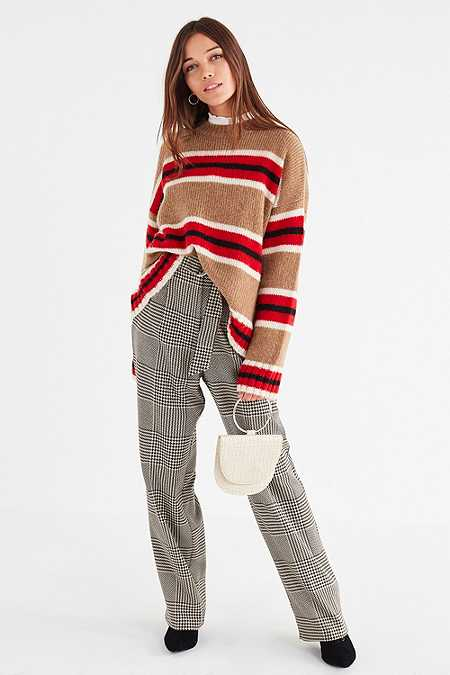 UO Oversized Striped Boyfriend Jumper