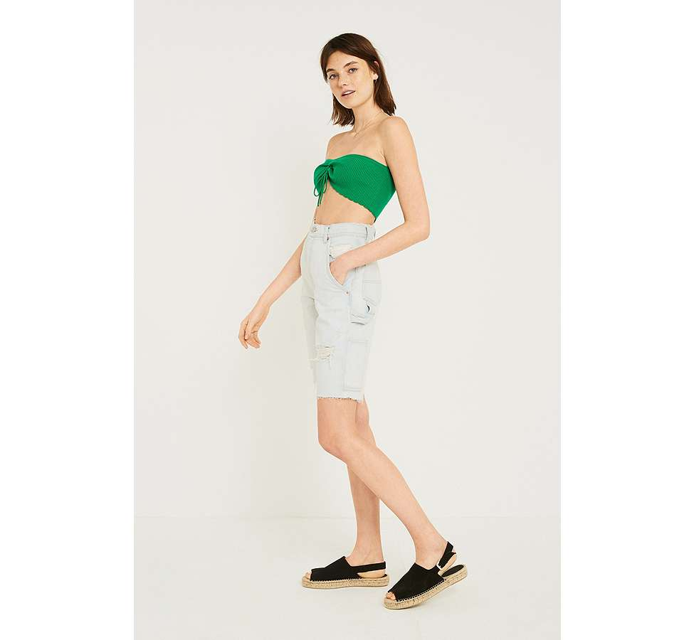 Slide View: 6: UO Ruched Tube Top