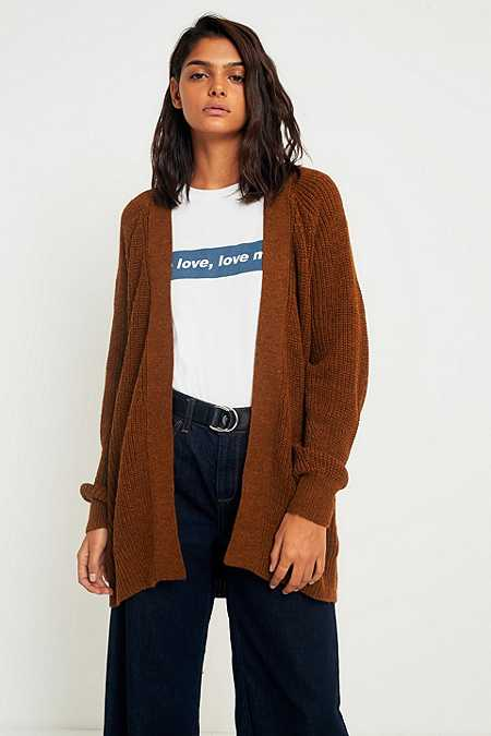 Brown - Women's Jumpers & Cardigans | Knit & Fisherman Jumpers ...
