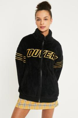 0de0ae28591 Shoptagr | Uo Nouveau Teddy Track Jacket by Shop All Urban Outfitters