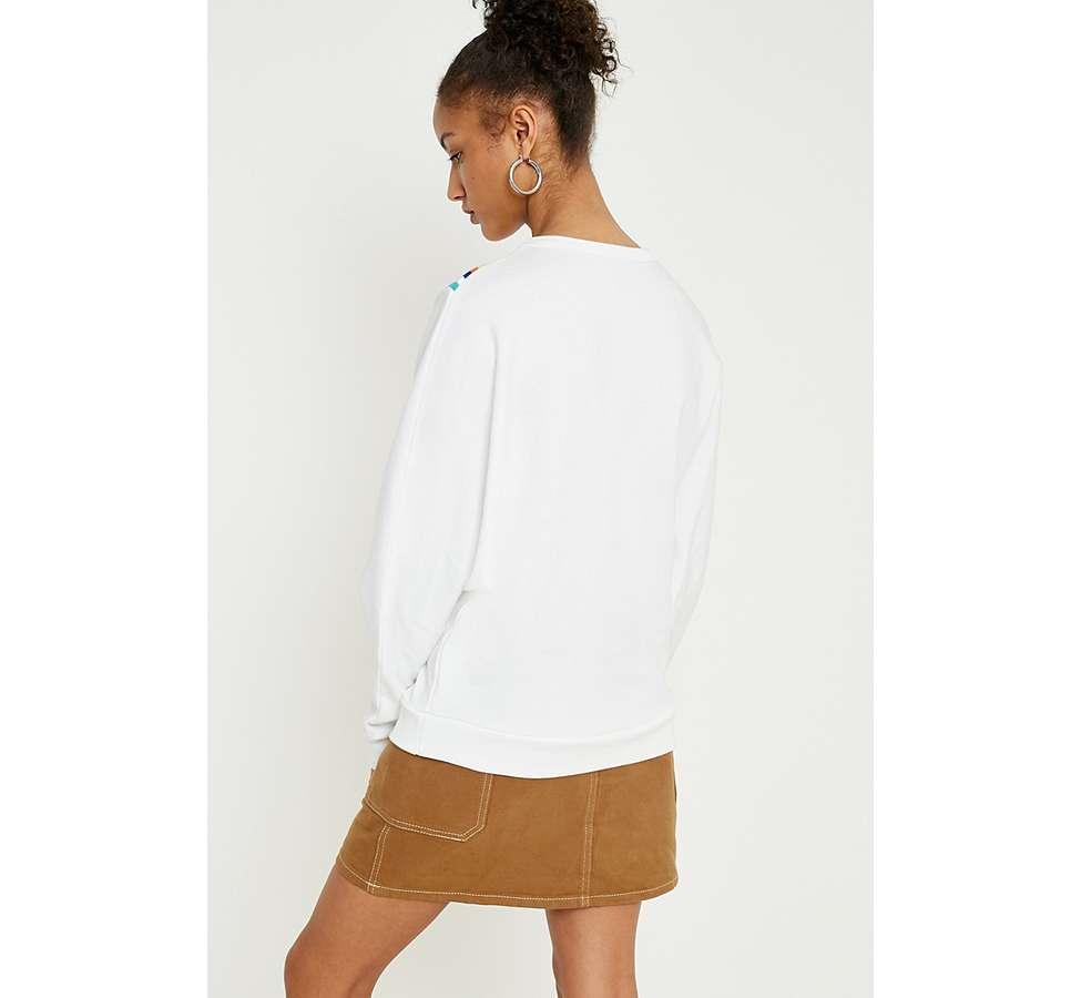 "Slide View: 4: Urban Outfitters – Sweatshirt ""Monica"" mit Chevrondesign"
