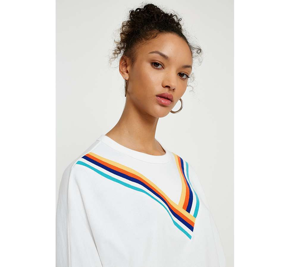 "Slide View: 6: Urban Outfitters – Sweatshirt ""Monica"" mit Chevrondesign"