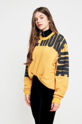 Cooperative by Urban Outfitters - Urban Outfitters Love More Sweatshirt, Yellow