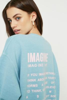 Urban Outfitters - UO Imagine Dictionary Sweatshirt, Blue
