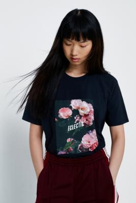Urban Outfitters - UO Eclectic Oversized T-Shirt, Black