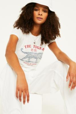 Uo Tiger Baby T Shirt by Urban Outfitters