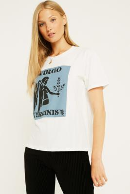 Uo   T Shirt Motif Horoscope Vierge by Urban Outfitters