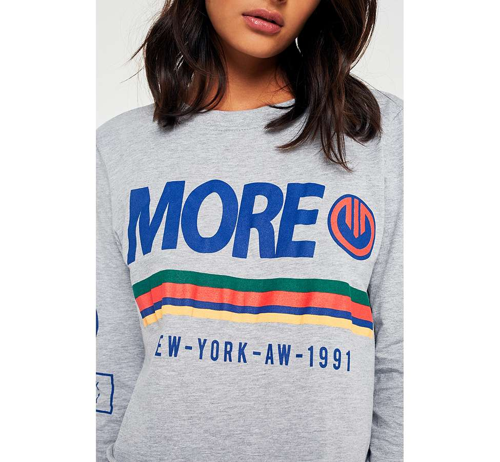 Slide View: 3: Urban Outfitters More Long Sleeve T-Shirt
