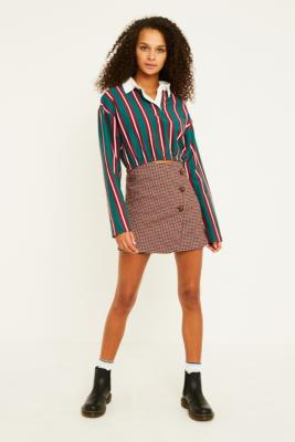 Uo Pep Squad Tartan Skirt by Urban Outfitters