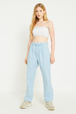 BDG - BDG Bleached Cocoon Jeans, Light blue