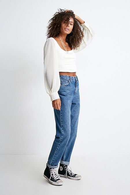 BDG Mom Indigo Wash Jeans. Quick Shop