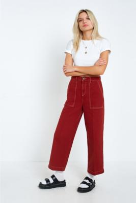 BDG - BDG Contrast Stitch Carpenter Jeans, Bronze