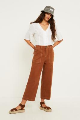 BDG - BDG Honey Contrast Stitch Carpenter Jeans, bronze