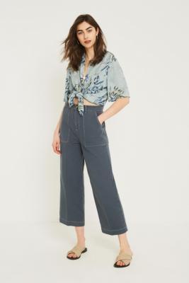 bdg-−-workwear-jeans-in-blau-mit-kontrastnähten by bdg-shoppen