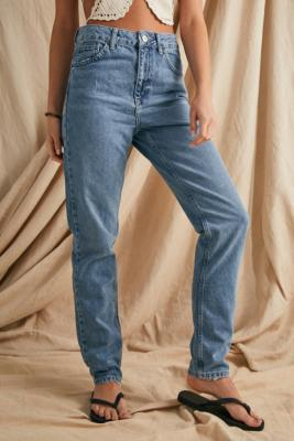 BDG Vintage Blue Recycled Cotton Mom Jeans - Blue 30W 30L at Urban Outfitters