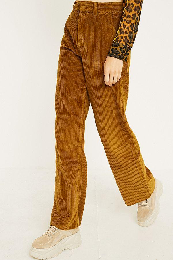 Uo Velours Pantalon Côtelé Puddle Outfitters Habillé En Urban Fr gdgwrIq