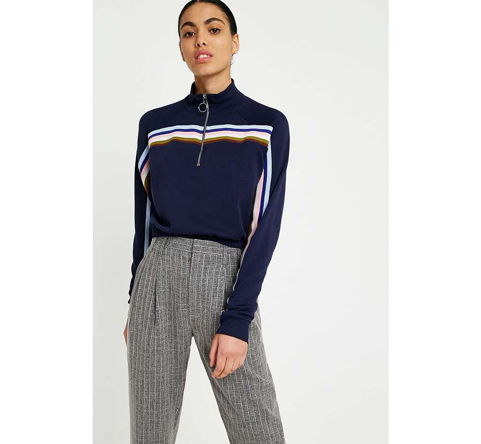 Slide View: 3: Light Before Dark Tonic Pinstripe Pleated Trousers