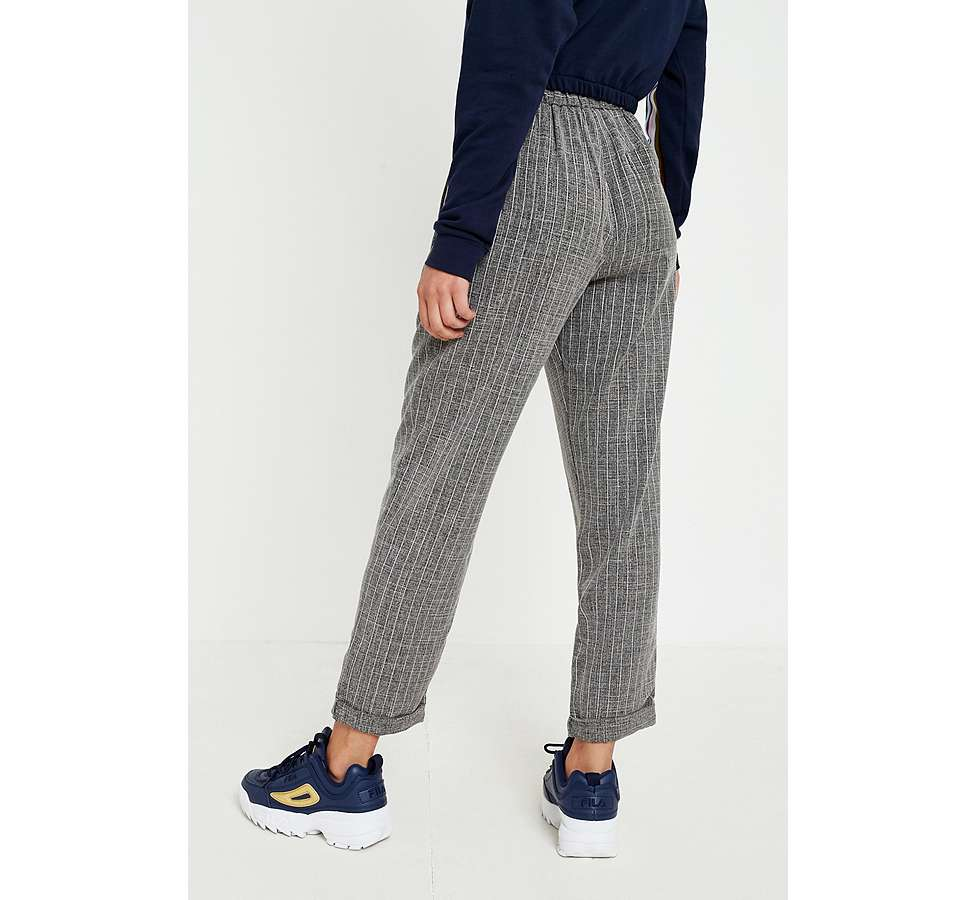 Slide View: 6: Light Before Dark Tonic Pinstripe Pleated Trousers