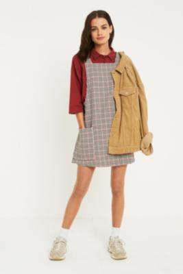 Uo   Robe Chasuble à Carreaux by Urban Outfitters