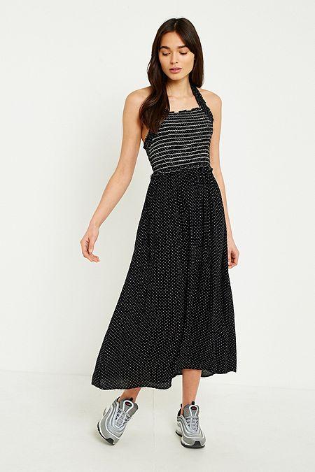 Maxikleider | Kleider aus Satin & Samt | Urban Outfitters